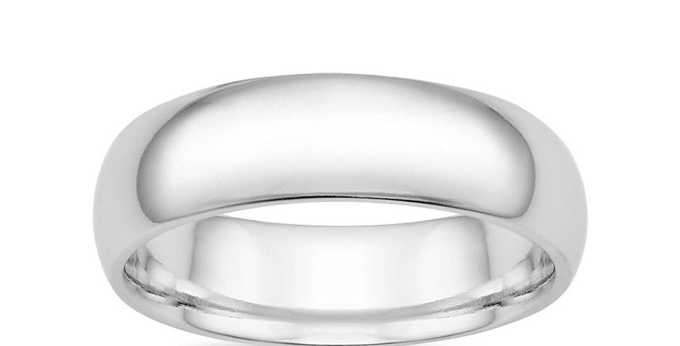 CLASSIC WEDDING RING (6 MM)