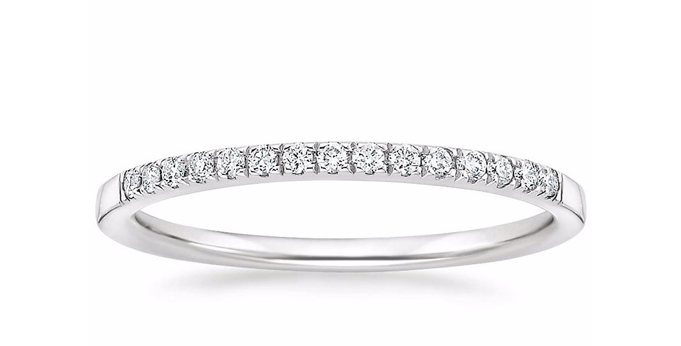 """EMMA"" DIAMOND ETERNITY RING (1/10 CTW)"