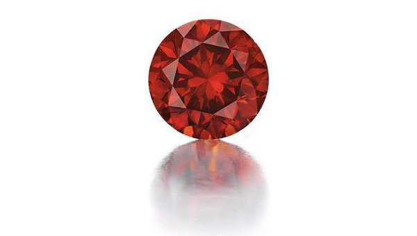The DeYoung Red Diamond weighing 5.03 carats
