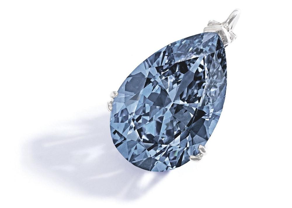 The Zoe Diamond weighing 9.75 carats