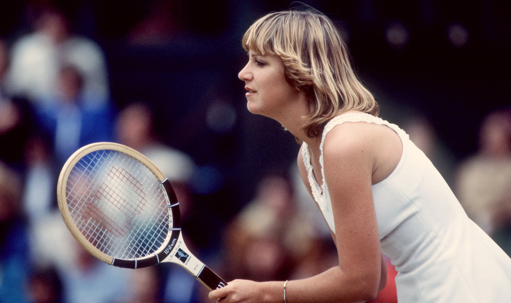 Chris Evert at the 1987 US Open