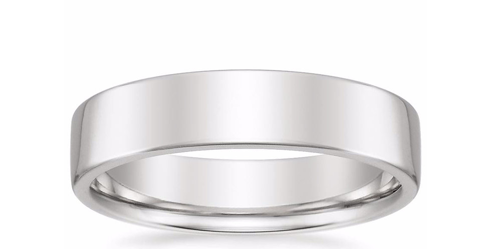 """CARTER"" LOW PROFILE WEDDING BAND (5 MM)"