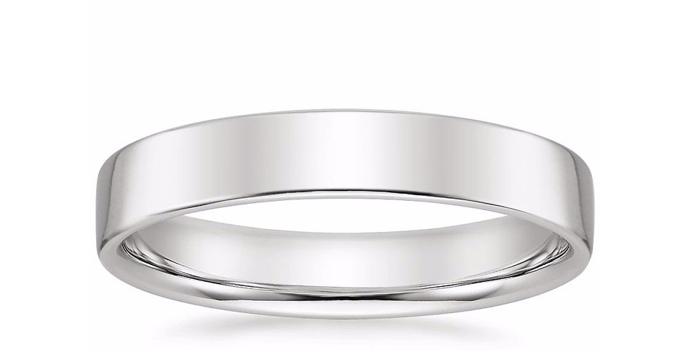 """CARTER"" LOW PROFILE WEDDING BAND (4 MM)"