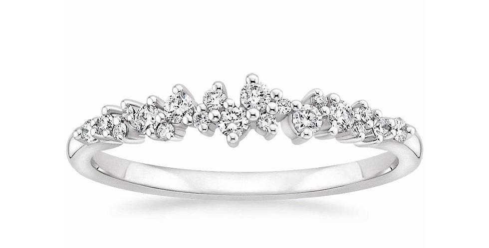 """VALERIE"" DIAMOND WEDDING RING"