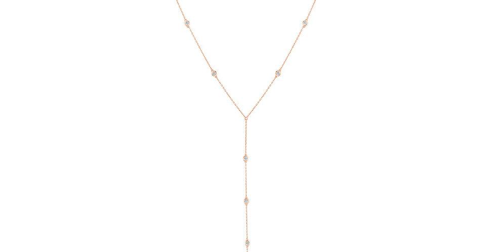 Diamond Drop Chain Kandy Necklace