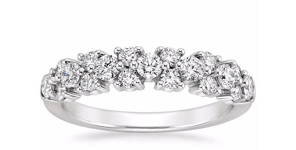 """""""MAYA"""" DIAMOND WEDDING RING"""