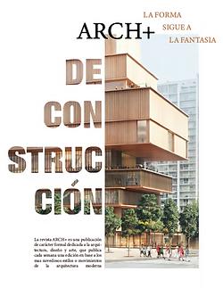 Afiche revista ARCH+Vanessa Vargas.png