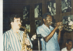 1987 with Tommy Turrentine at Jazz Cultu