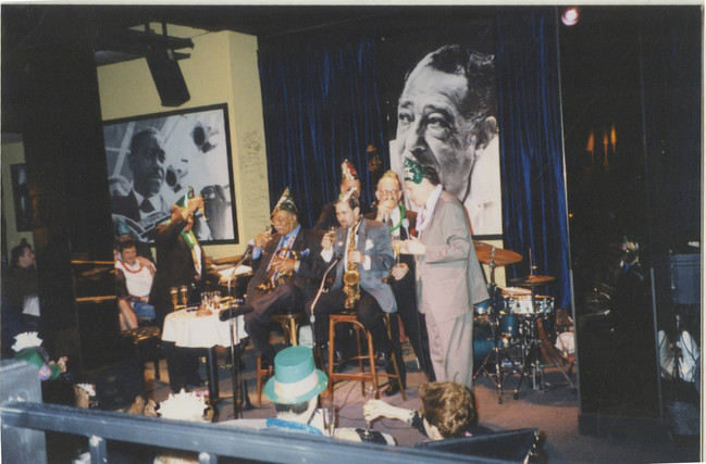 1999 Jazz Showcase Chicago with Clark Ne