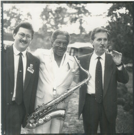 1990 With Illinois Jacquet and Scott Ham