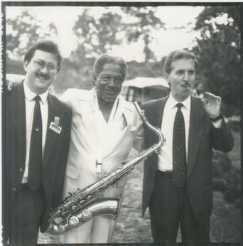 1990 With Illinois Jacquet and Scott Ham