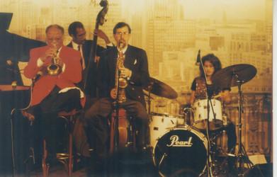 1996 CT quintet at the Jazz Bistro, St.