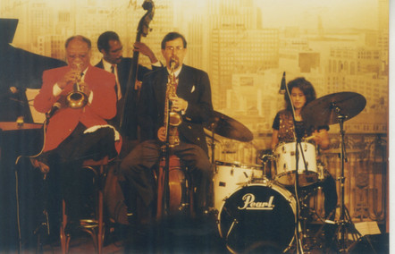 1996 CT quintet at the Jazz Bistro, St.