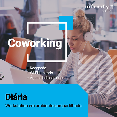 Coworking - Diária