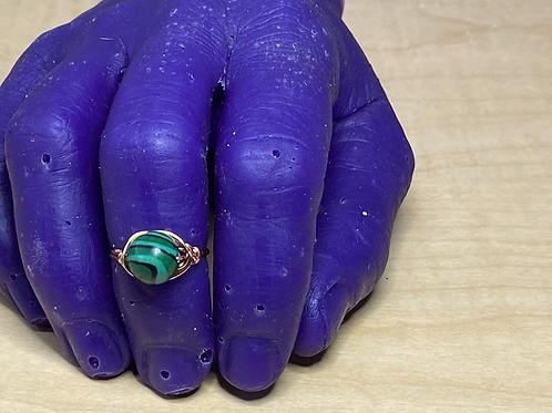 Gemstone Copper Rings