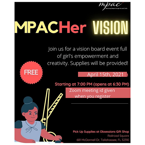 MPAC Her Vision postponed to April 15th