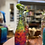 Thumbnail: Decorative Wine Bottle Planter