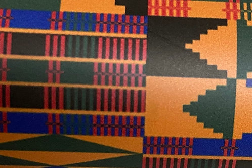 Patterned Kente HTV
