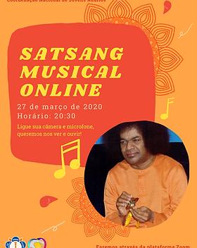 Satsang Musical Online - Jovens Adultos.