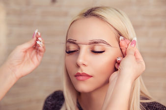 Microblading, micropigmentation eyebrows