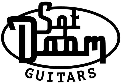 En logotyp till svenskbyggda elgitarrer i världsklass