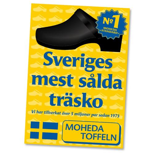 Affisch Moheda Toffeln
