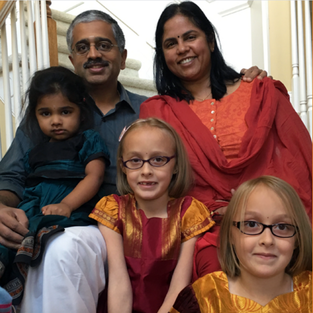 Lakshmi, Adoptive Mom of Twin Girls: