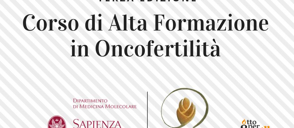 III edizione del Corso di Alta Formazione in Oncofertilità