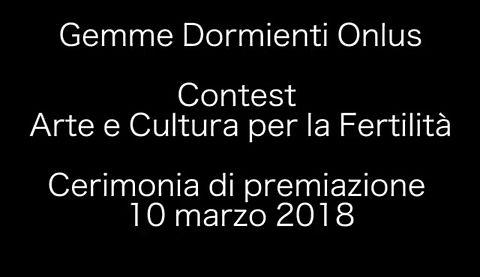 Premiazione Contest Gemme Dormienti 2018