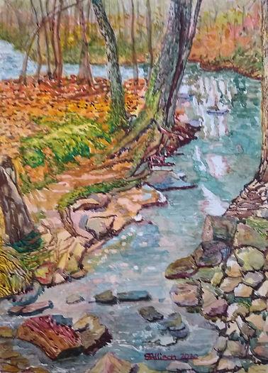 Four Mile Creek - Portrait #1 - Feb 2020