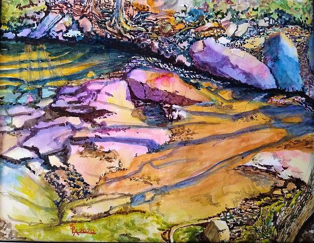 Four Mile Creek - Portrait #4 - April 20