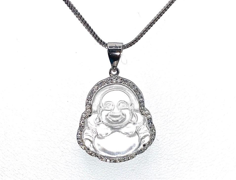 Sterling Silver Med. Buddha