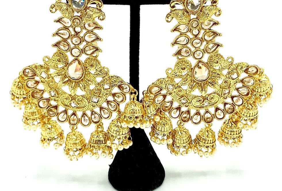Siya Gold Earring