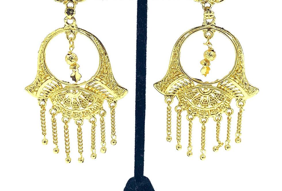 Lekha Hasma Gold Earring
