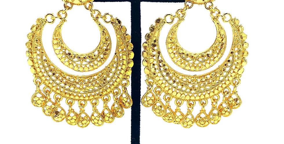 Eshana Gold Earrings