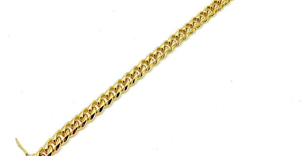 Stainless Steel Mini Cuban Link Bracelet
