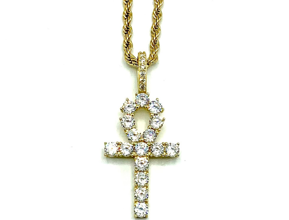 Diamond Ankh Chain