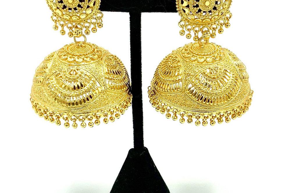 Parmesh Gold II Earring