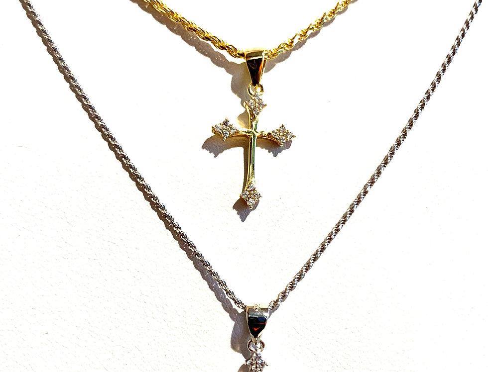 Mini Vintage Cross