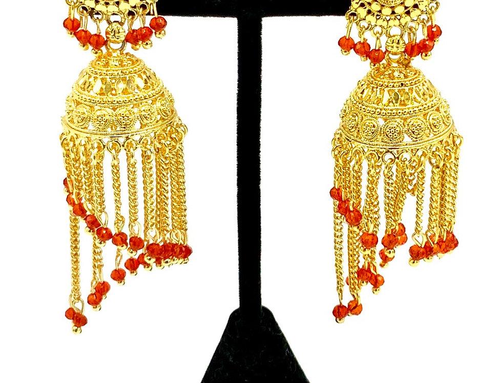 Mena Gold Earring