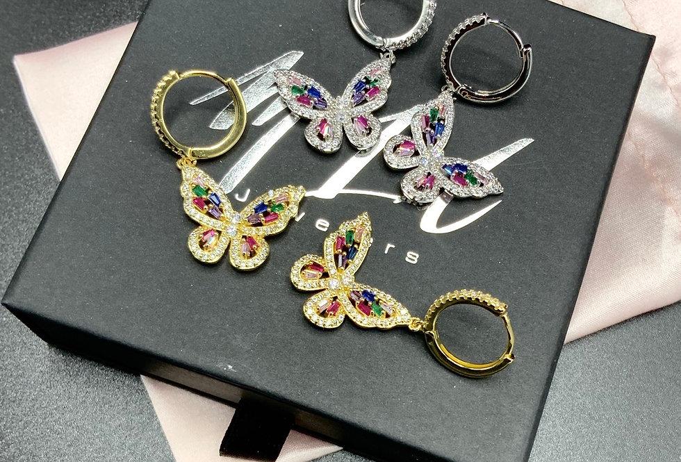 Cynthia Butterfly Earrings