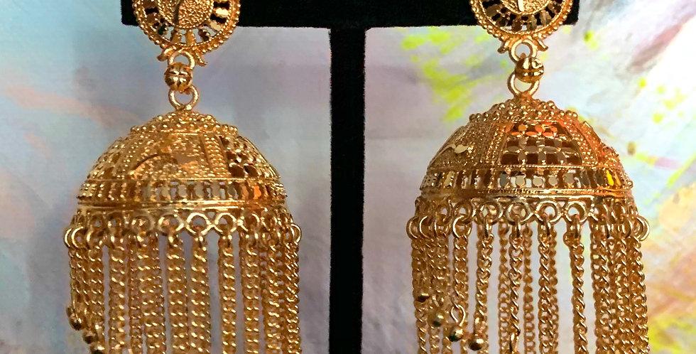Bhavani Gold Earring
