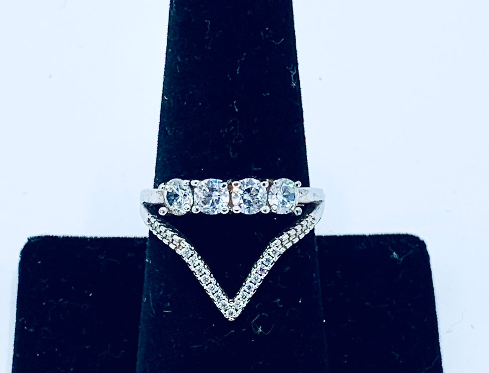 Engagement V Ring