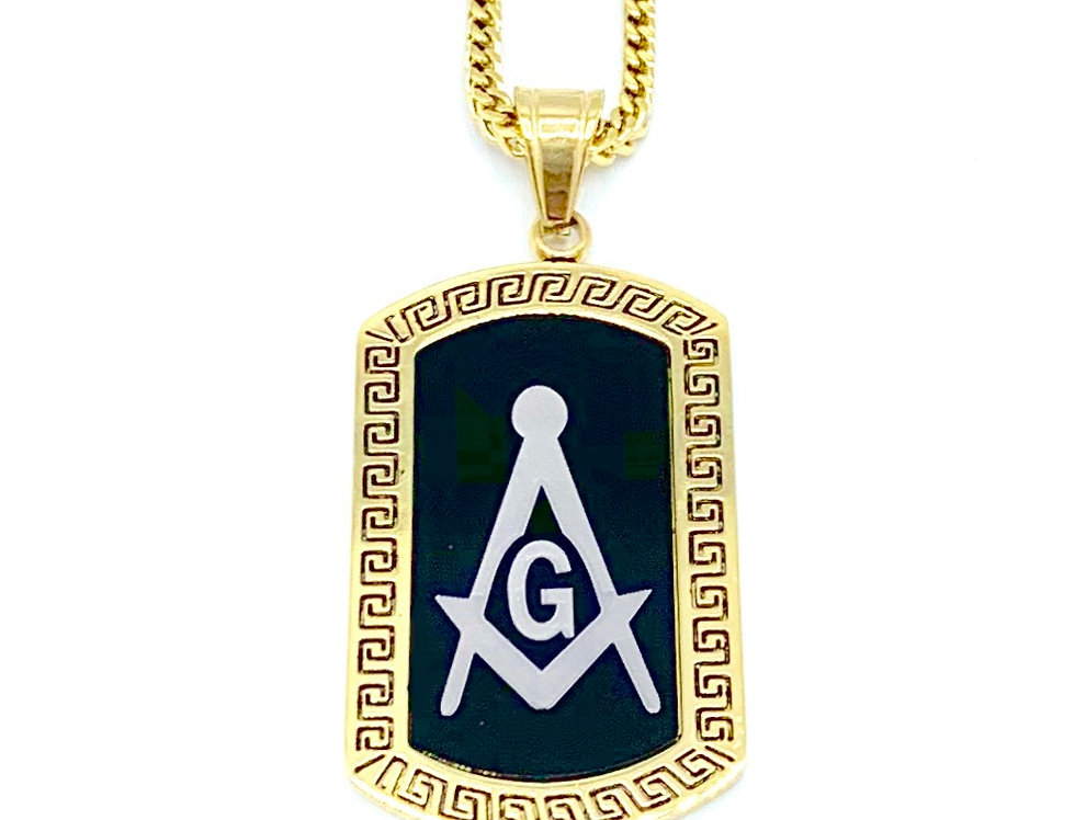 Stainless Steel Fraternity Dog Tag