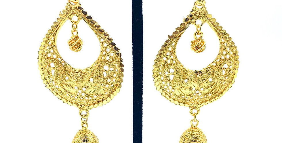 Dalaja Gold Earrings
