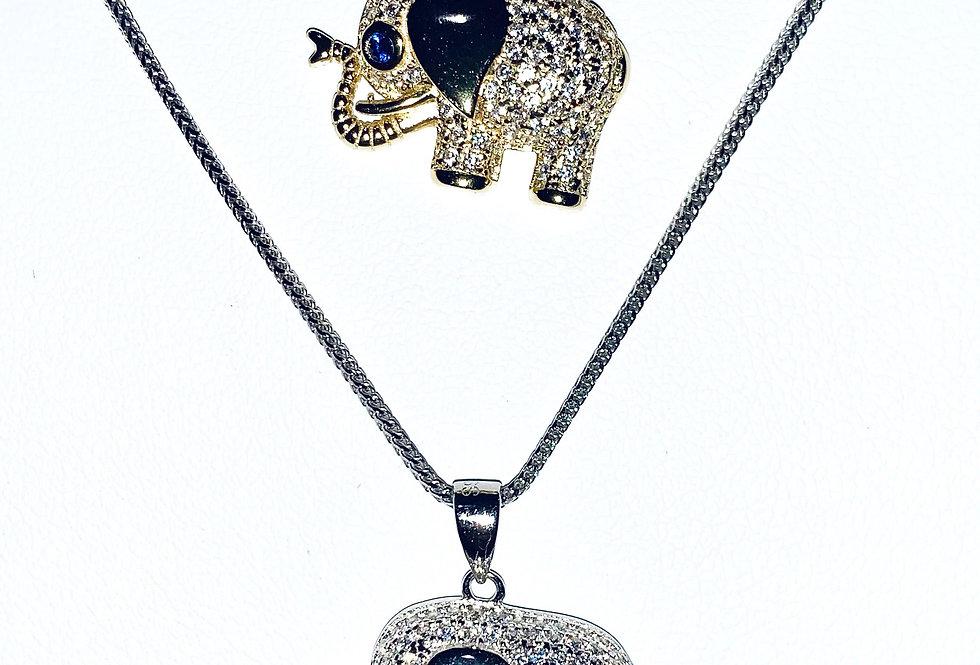 Sterling Silver Mini Elephant