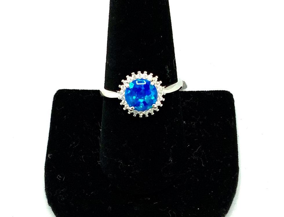 Sterling Silver Galaxy Ring