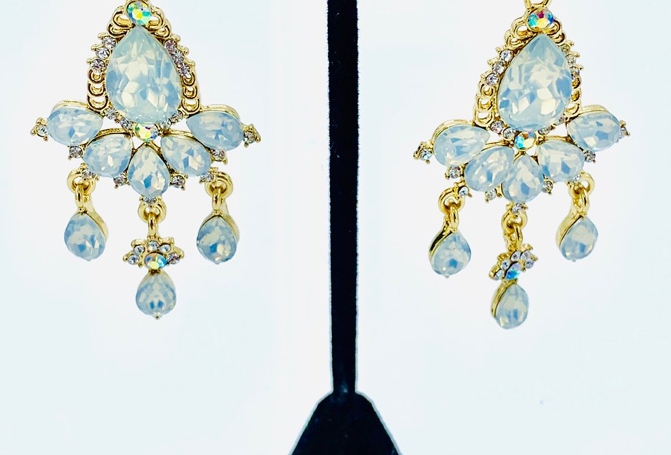 Opal Cinderella Earrings