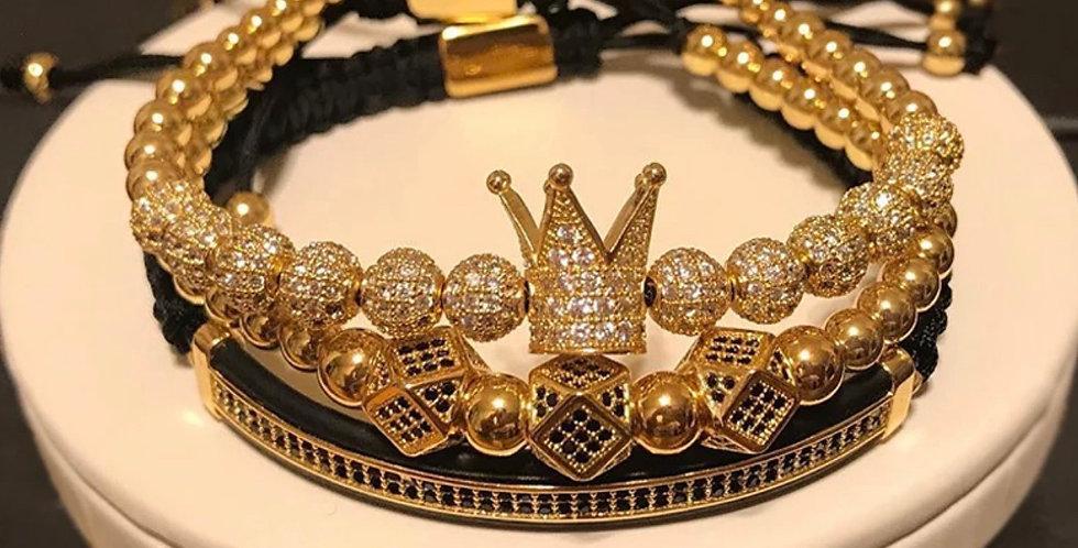 "3-piece ""King"" Bracelet"