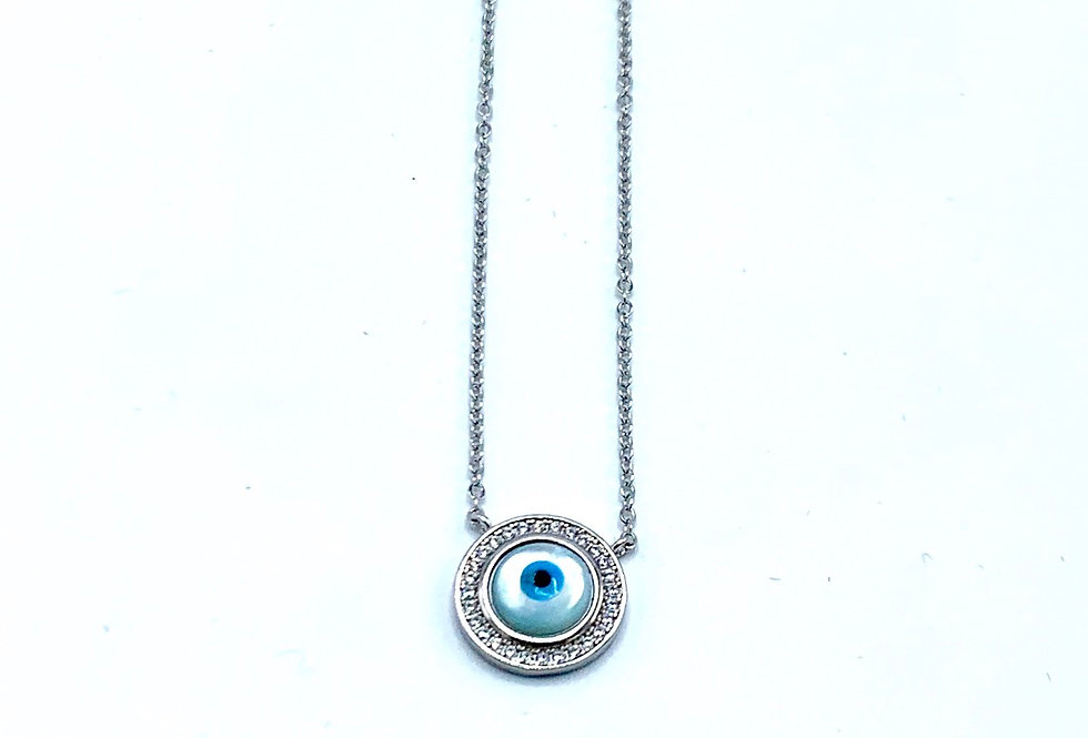 Sterling Silver Mini Eye of Protection